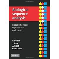 Biological Sequence Analysis Richard Durb. 9780521629713 Cond=LN:NSD SKU:3165433