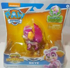 """Nickelodeon Paw Patrol Mighty Pups Super Paws Skye """"NEW"""""""
