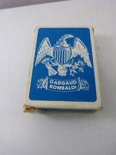 jeu de cartes de l'union américaine , DARGAUD ROMBALDI,  (CP10)