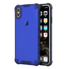 For iPhone XS Max Case XR 8 7 Plus 6s Hybrid PC Rubber Slim Rugged Armor Cover