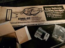 Vintage Nos Grill Rotisserie Kit Battery Operated Motor & Spit