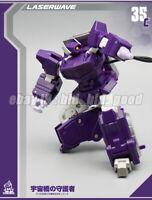MFT MechFansToy MF35c G1 Shockwave Transformers PocketSize Robot Action Figure