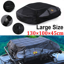 Car Roof Top Rack Luggage Travel Bag Cargo Carrier 4WD Storage Outdoor Universal