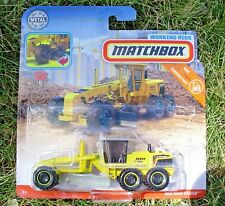 Matchbox 2018 Real Working Rigs Construction RW020. Road Grader FWD51.