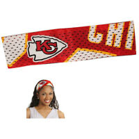 New NFL Kansas City Chiefs Fanband Jersey Headband Head Band Official Licensed