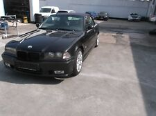 BMW Cabrio E36, 325i, schwarz, M Paket, Hardtop u. Windschott, EZ: 18.06.1993
