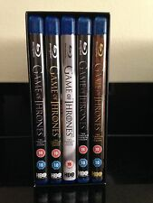 GAME OF THRONES - COMPLETE SEASONS 1-5 (BLURAY) 50 episodes stunning pictures