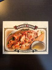 2015-16 UD Champs Famous Foods #FF-7 Lobster Rolls