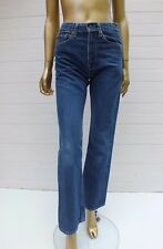 LEVIS RED TAB BLUE STRAIGHT LEG TAPERED DENIM JEANS PANTS 30