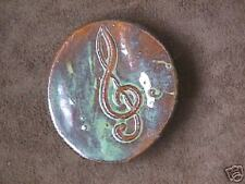 "Sacred ""Musical Treble Clef"" Handmade Knob by Bahereh"