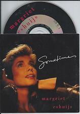 MARGRIET ESHUIJS - Sometimes CD SINGLE 2TR CARDSLEEVE 1992 (ARIOLA) Holland