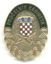 CROATIA  ARMY - HEAD OF THE MILITARY CABINET OF CROATIAN PRESIDENT- breast badge