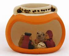 Presepe Peruviano ceramica Nativita Andino Peru , Nativity scene