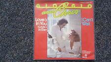 Giorgio Moroder & Chris - Love's in you 7'' Single Germany