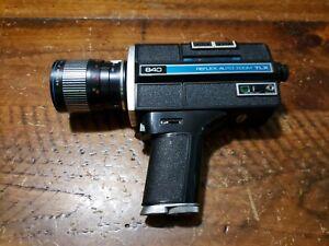KEYSTONE Reflex Auto Zoom TLX Vintage Movie Film Camera KEYTAR Lens JAPAN AS IS
