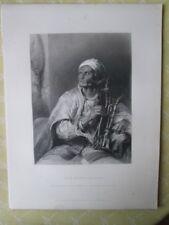 Vintage Print,HOOKA BADAR,Wilkie Gallery,1845