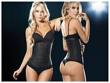 "Ann Chery 2025 Latex Girdle Body Shaper Black Large (36) Waist 29-32"" US NWT"