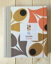 NEW ORLA KIELY HOME JOURNAL RRP £20.00 RECORD BOOK PROJECT ORGANISER NEW HOME