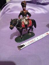Ancien Soldat Cavalier Napoleon En Plomb