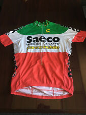 Retro Saeco Italian National Champion cycling jersey Cannondale