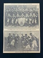 1926 Newspaper Clipping RUBGY, ULSTER SCHOOL CUP WINNERS, CAMPBELL COLLEGE