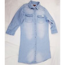 7 For All Mankind Girls Size Large Distressed Denim Dress