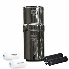 Royal Berkey Water Purifier w/2 Black & 2 PF-2 Fluoride Arsenic Removal Filters