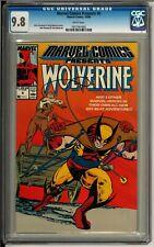 Marvel Comics Presents #5 (1988) CGC 9.8 WHITE Wolverine! Madripoor! Tyger Tiger