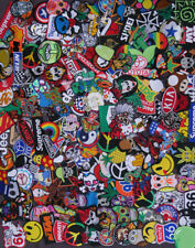 New RANDOM Lot 30 Iron On Patch Sew Embroidered Hero Biker Skull Animal Mix DIY