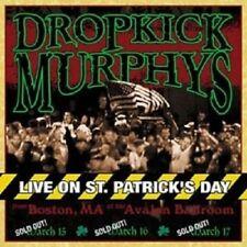 "DROPKICK MURPHYS ""LIVE ON ST PATRICK´S DAY"" CD NEW!!"
