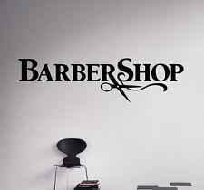 Barbershop Wall Vinyl Decal Sticker Hairdressing Salon Logo Art Decor 22(nse)