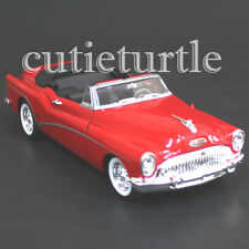 Welly 1953 Buick Skylark Convertible 1:24 Diecast Model Car 28027 Red