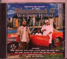 "DIAMOND G - ""WORLDWIDE HUSTLAZ""   (RARE KANSAS CITY RAP)   BOY BIG, RAPPIN TWAN"