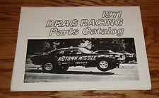 1971 Chrysler Drag Racing Parts Catalog 71
