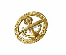Fregio da Basco Marina Militare Arditi Incursori in Metallo e Nuovo