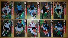 10 Ran WM USA 94 Fußball Trading Cards*Panini*10 deutsche Spieler*gold metallic