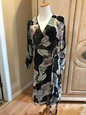 43d247fa5546 Zara Women Size Small Floral Watercolor Kimono Robe Wrap Dress Size S~NEW
