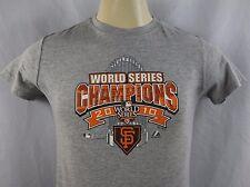 Majestic World Series Champions 2010 Giants Youth's Short Sleeve T-Shirt Sz XL