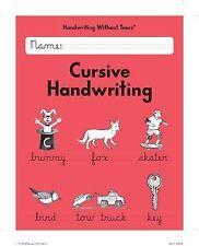 Handwriting Without Tears - Cursive Handwriting - Grade 3