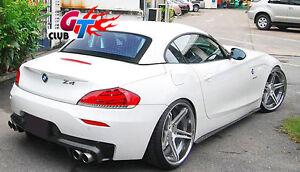 NEW FOR BMW E89 Z4 M TECH M SPORT REAR BUMPER CARBON REAR DIFFUSER 3D STYLE QUAD