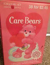 Vintage Care Bears Valentines Happy Valentine's Day NEW