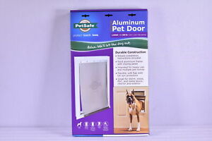 PetSafe Freedom Aluminum Pet Door For Large Dogs 1-100 Pounds