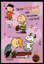 NEW PEANUTS Charlie Brown Woodstock Birds Religious Birthday Greeting Card