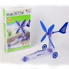 Build Your Own Wind Powered Car Older Boys Educational Kit Toys