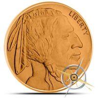 1 oz Copper Round - Buffalo Nickel