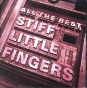 STIFF LITTLE FINGERS - ALL THE BEST - UK PUNK - DOUBLE CD ALBUM - FREE UK POST