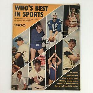 Who's Best In Sports Magazine 1960 Hank Aaron, Bob Allison & Al Lopez, No Label