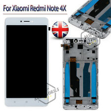 For Xiaomi Redmi Note 4X LCD Assembly Display Touch Screen Digitizer Frame White