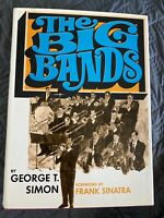The Big Bands by George T. Simon & Forward by Frank Sinatra (1969)