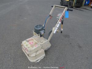 "Edco 2EC Walk-Behind 22"" Dual Headed Electric Concrete Floor Grinder bidadoo"